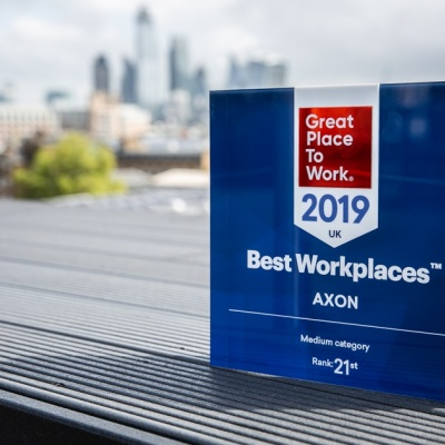 AXON Ranked Highest Among Healthcare Communications Agencies by Great Place to Work® UK
