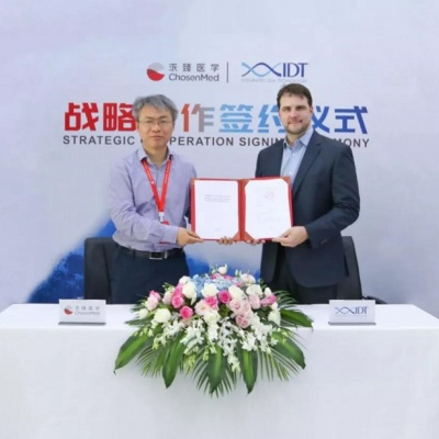 IDT signs strategic partnership with Chinese medical sequencing firm ChosenMed