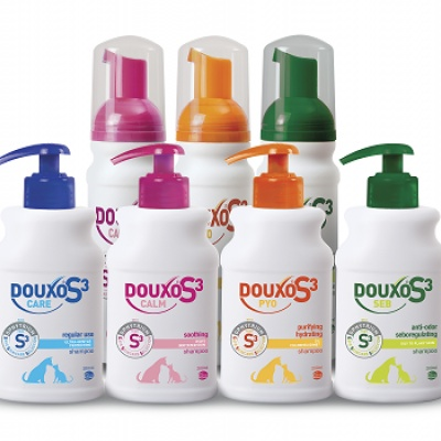 Ceva launches DOUXO S3 range – an innovation in derma-topical products