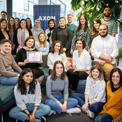 AXON Gets Another Wellbeing Award Nod from Great Place to Work® UK
