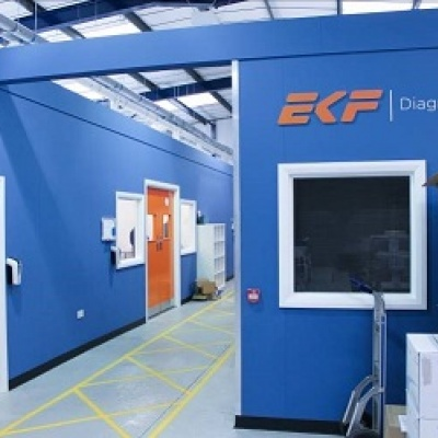 EKF opens larger facility to increase production of key component for COVID-19 testing regime